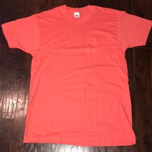 Vintage 90s Made in USA Fruit of the Loom Pocket T